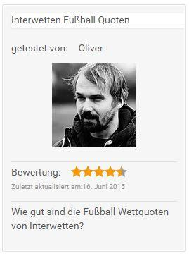 Interwetten Fußball Quoten