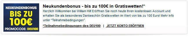 william-hill-neukundenbonus-gratiswetten-100-euro
