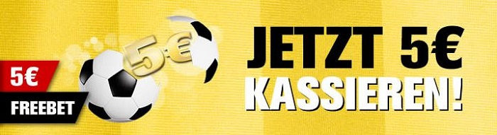 Interwetten 5 Euro Freebet