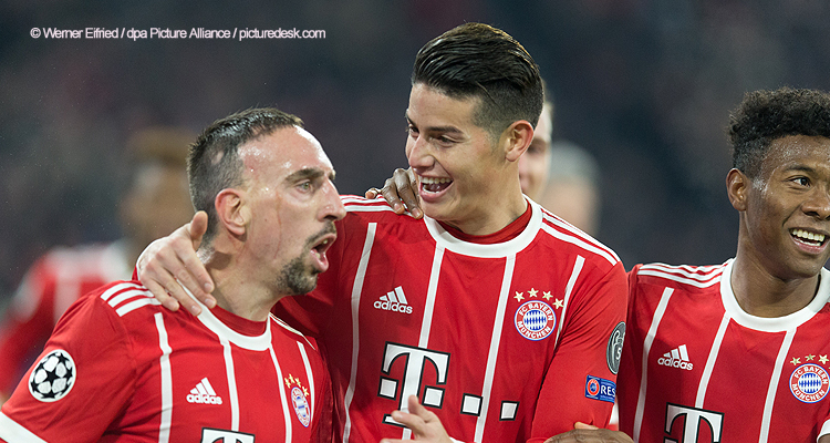 20171205_PD8858 (RM) FC Bayern Jubel © Werner Eifried / dpa Picture Alliance / picturedesk.com