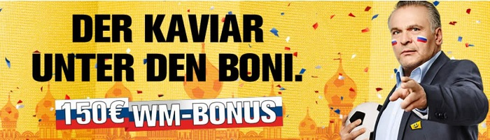 WM 2018 Bonus Interwetten