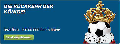 150 Euro Bonus bei Bet-at-home